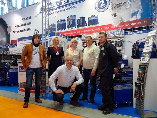 Команда Евротек на выставке Россварка 2014