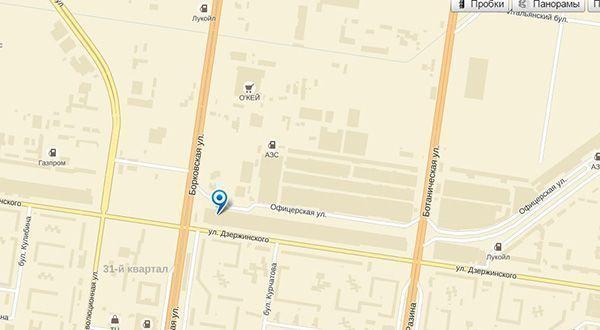 Карта Евротек Тольятти
