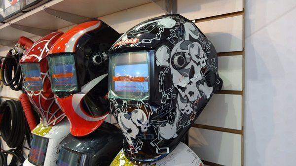 Новые сварочные маски Aurora Pro на выставке Weldex 2014
