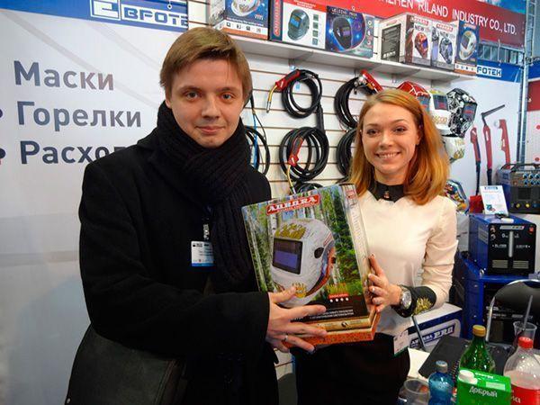 Новый обладатель сварочной маски Aurora Pro Russian Style