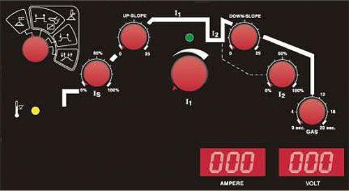 EWM Microplasma 20 панель управления