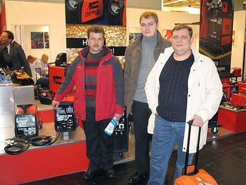 компания  Telwin на выставке в Кёльне