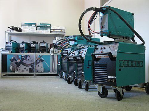 Сварочное оборудование Мекрле в учебном центре Евротек