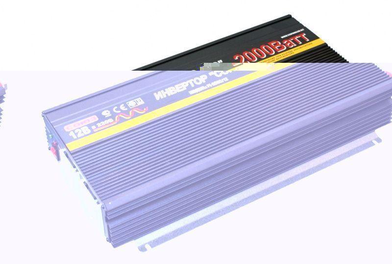 Преобразователь постоянного тока (инвертор) Союз PI-2000 12В.