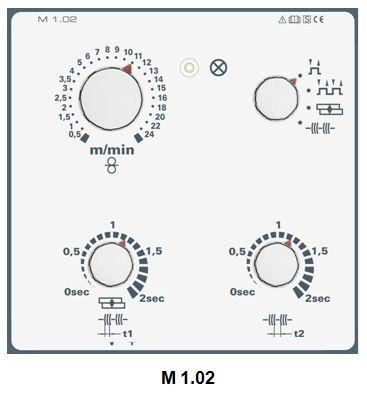 Панель  управления EWM M 1.02