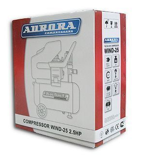 упаковка  компрессора Aurora