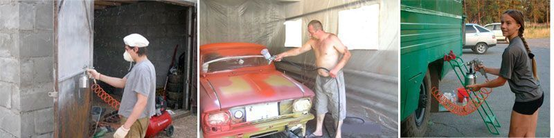 Технология покраски автомобиля своими руками в гараже 36