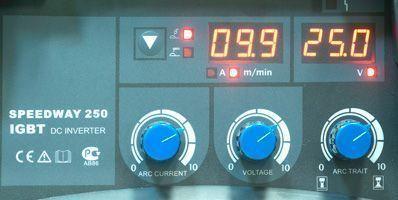 aurorapro SPEEDWAY 250 панель управления