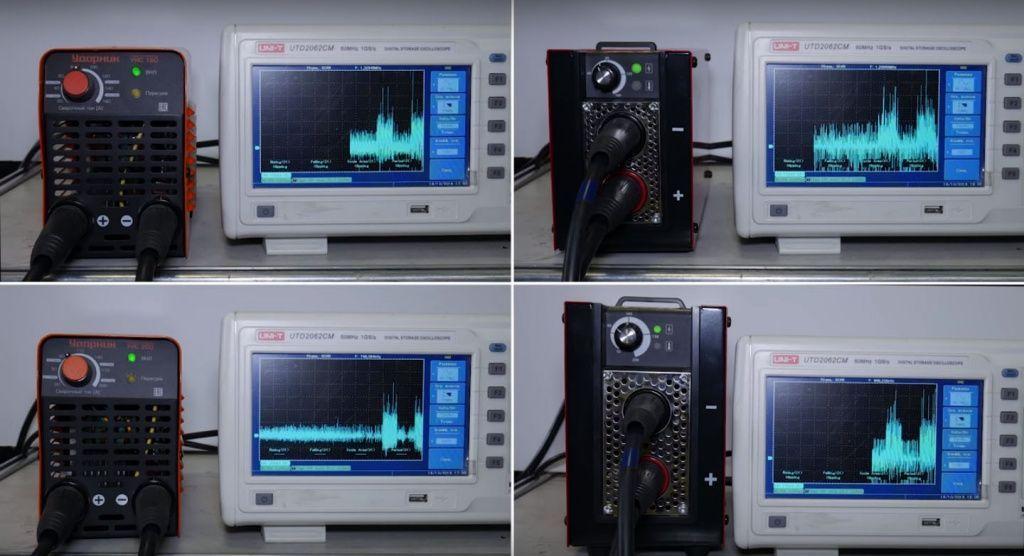 Тест инверторных сварочных аппаратов