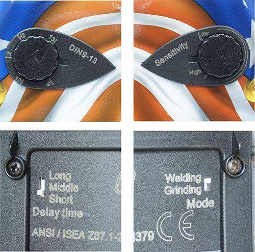 регулировки маски AURORA A777 HEAVY METAL DESIGN