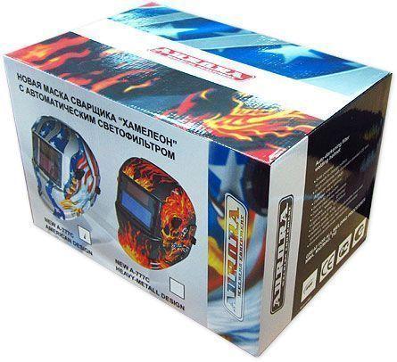 коробка для маски AURORA A777 HEAVY METAL DESIGN