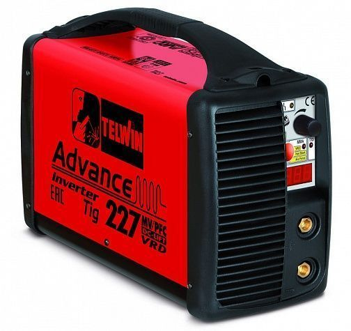 Сварочный инвертор Telwin Advance Tig 227  MV/PFC DC-LIFT VRD