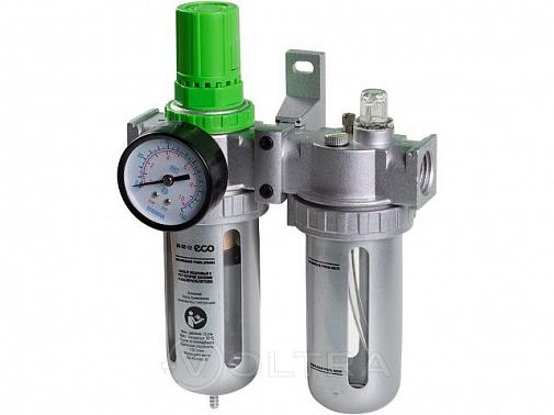 Фильтр ECO с регулятором давления и маслораспылителем (1/2